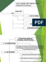 Fuentes y Principios Del Derecho procesal Constitucional