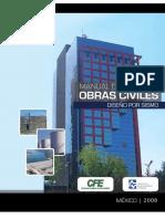 MDOC CFE SISMO 2008 Manuales de Obra Civil