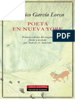 Poeta en Nueva York - Inroduccion Ed Galaxia Guttemberg