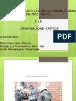 Teorias Conflictivas de La Criminalidad en Occidente