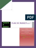 Plan de Marketing Monster Energy