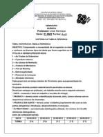 Seminário Tabela PDF