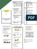 Leaflet Luka Post Operasi