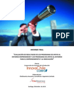 Informe Final de Resultados PAE 2013