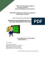 Elementos Para El Proyecto de Gestion Escolar Democrática Modificado 1