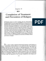 Completion of Treatment and Prevention of Relapse