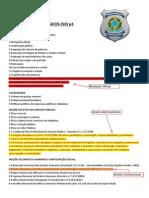 Conteúdo - Depen - 2015 - Area 3