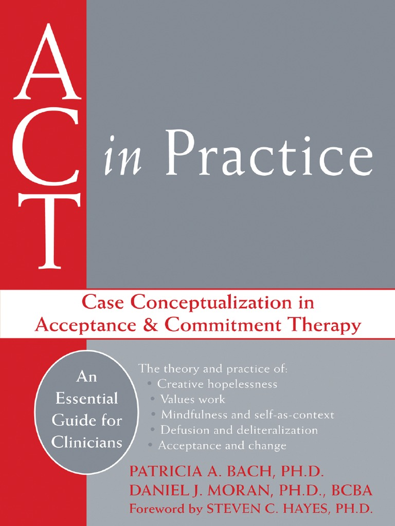 ACT in Practice Case Conceptualization in Acceptance and Commitment ...