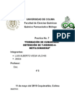 Practica 7  cumarinaasQuimica Organica