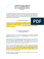 La imputación objetiva, Balmaceda et al