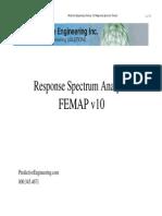 Predictive Engineering Response Spectrum Analysis 2008