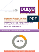 Prsa Chicago - May 2015 - Avenues Dulye Presentation
