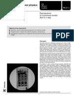 P6311 Basic Flourescent Screen