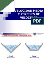 5 - Velocidad Media y Perfiles de Velocidades