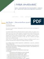 4ª Lição — Documentum Quartum - LATIM PARA AMADORES