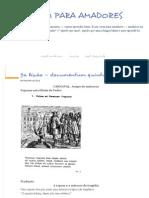 5ª Lição — Documentum Quintum - LATIM PARA AMADORES