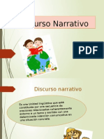 Discurso Narrativo Ppt Final