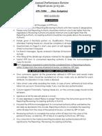 APA Scale-I to VI Non Budgetary- Annexure-II