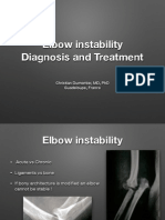 Elbow Instability Cartagena
