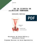 Manual de La Clinica de Deteccion Temprana Colposcopia