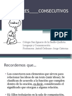 CONECTORES____CONSECUTIVOS
