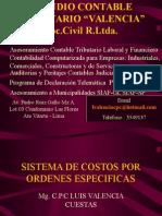 Sistema de Costos Por Ordenes Especificas