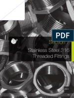 AAP S7 SS316 Threaded Fittings S