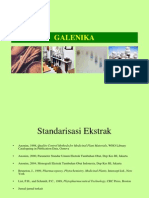 GALENIKA- Sebuah Parameter Non Spesifik