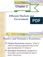 ch02- EFFICIENT MARKETS AND GOVERNMENT