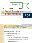 CHAPTER 8- SOCIAL SECURITY AND SOCIAL INSURANCE