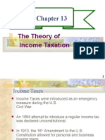 CHAPTER 13- THE THEORY OF INCOME TAXATION