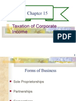 CHAPTER 15- TAXATION AND CORPORATE INCOME