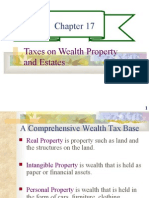 CHAPTER 17- TAXES ON WEALTH PROPERTY AND ESTATES