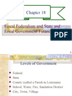 CHAPTER 18- FISCAL FEDERALISM AND STATE AND LOCAL GOVERNMENT FINANCE