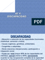 At y Discapacidad