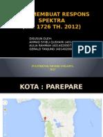 Cara Membuat Respons Spektra - Kota Parepare (Kelompok 3 - Tkg Lanjutan)