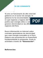 Generacion de Corriente Electrica