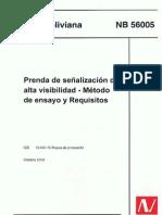 Norma Boliviana de Alta Visibilidad NB-56005