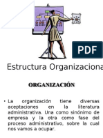 Estructura Organizacional - PPT