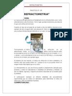 INFORME 6 refractometria
