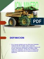 Camion Minerio