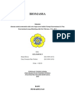 makalah biomassa