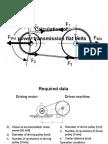 Flat Belt Calculation