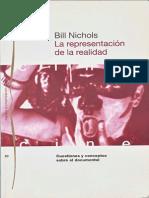 T02 Bill Nichols La Representacion de La Realidad (1)