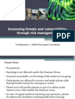Benilde Assessing Threats and Vulnerabilities Through Risk Management