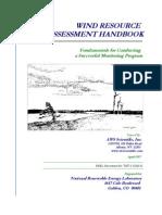 Manual de Evaluacion de Recursos Eolicos Ingles