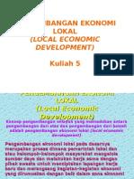 Pengembangan Ekonomi Lokal