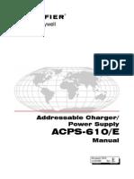 Manual Fuente de poder ACPS-610