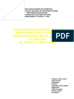 análisis sociológico