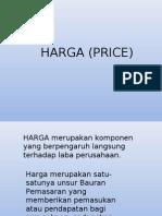 Bauran Pemasaran II (Price)